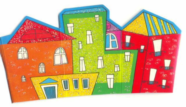 Веселые дома., дома, здания,