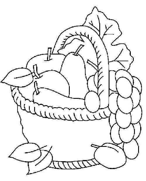 Вышивка крестом натюрморт фрукты
