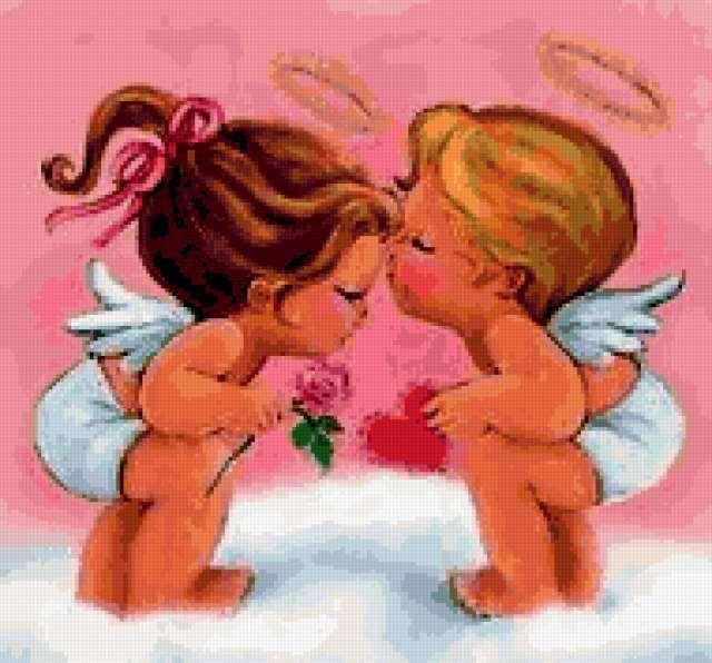 Ангельская любовь, ангелы