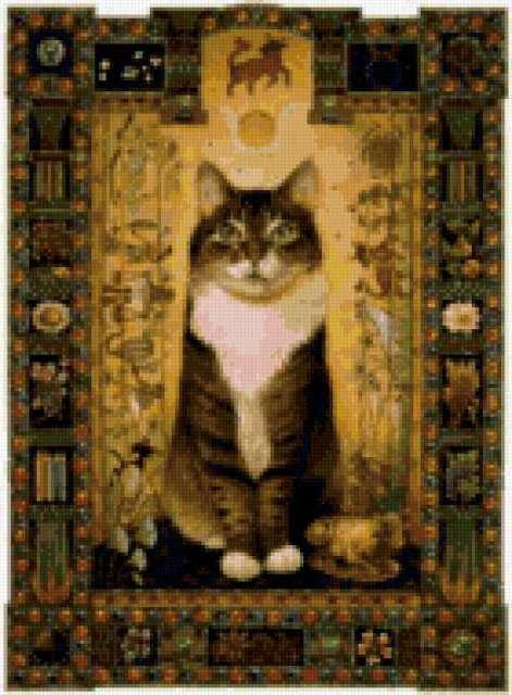 Кошачий зодиак. телец