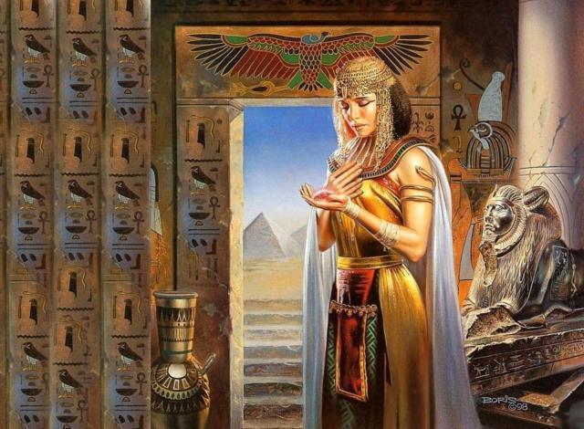 Египетские мотивы, египет