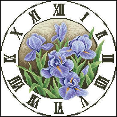 Цветочные часы, оригинал