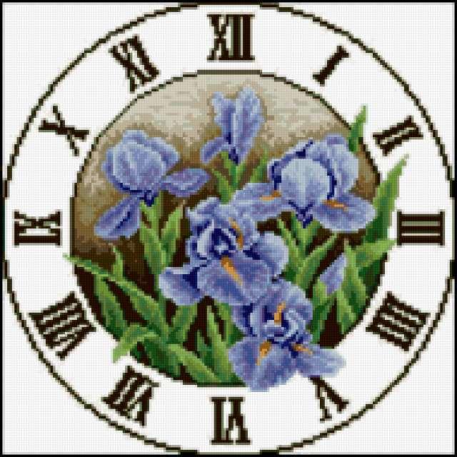 Цветочные часы, предпросмотр
