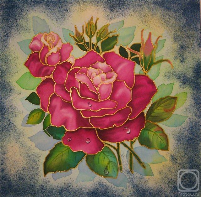 Подушка Роза, оригинал
