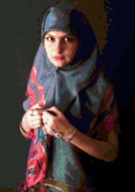 Арабка, арабская женщина