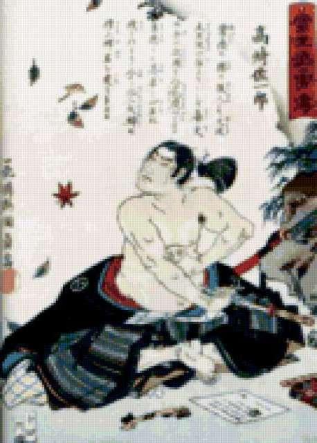 Японская фреска, предпросмотр