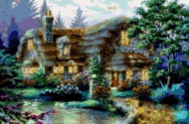 Уютный домик, предпросмотр