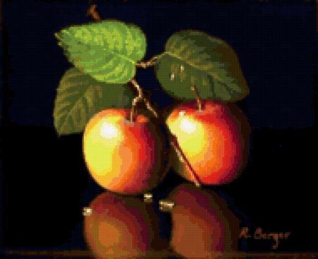Наливные яблочки для кухни,