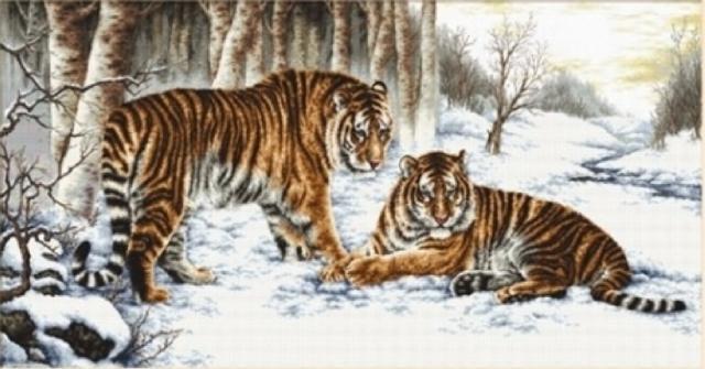 Бенгальские тигры, оригинал