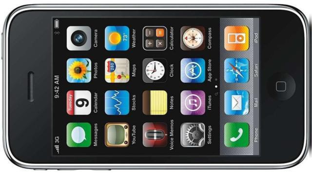 IPhone 3GS, iphone, айфон, техника, телефон, сенсор