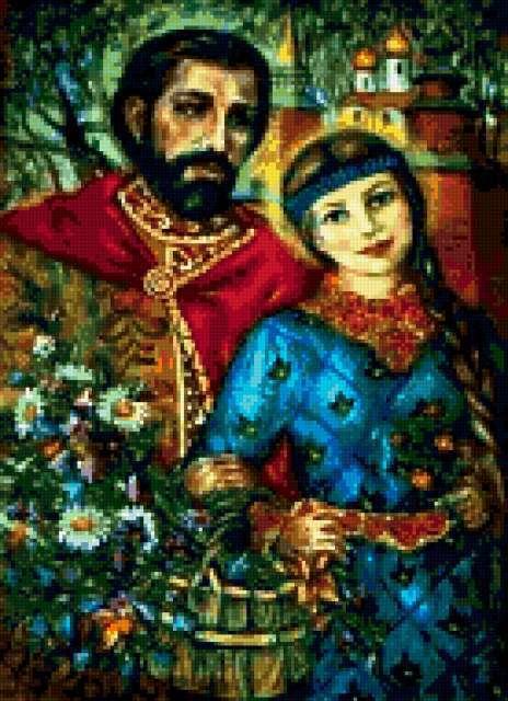 Св. Петр и Февронья,