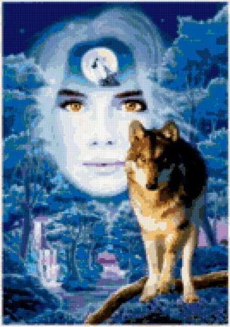 Волк и образ, предпросмотр