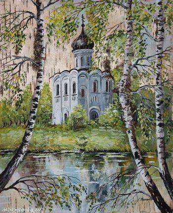 Церковь на берегу, оригинал