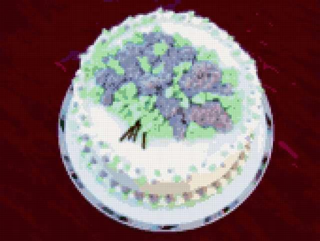 Торт сирень мастер класс