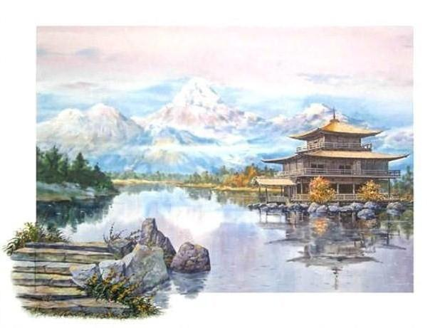 Горы Японии, оригинал