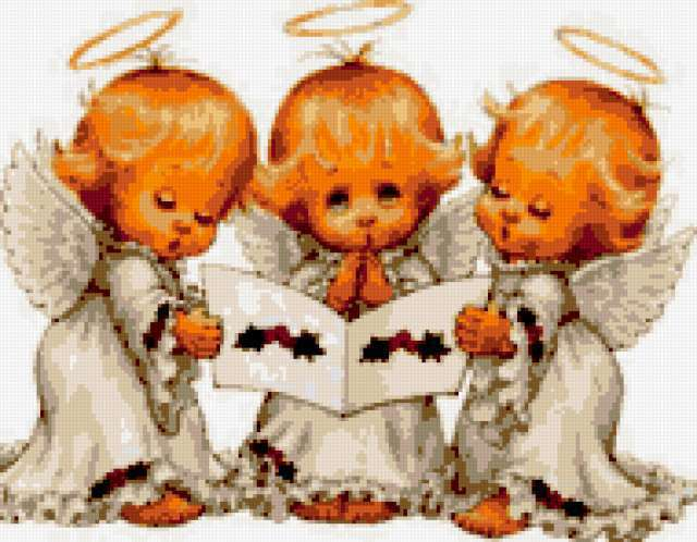 3 ангелочка, предпросмотр