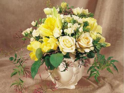 Букет желтых роз, оригинал