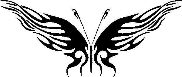 Бабочка, бабочка, монохром