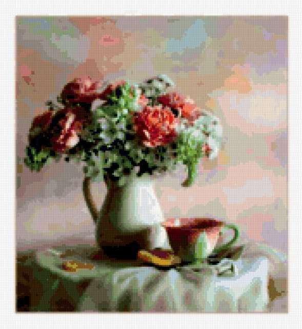 Чай с мармеладом, предпросмотр