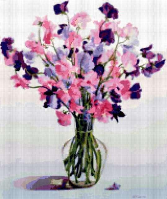 Цветы в вазе, цветы, цветок,