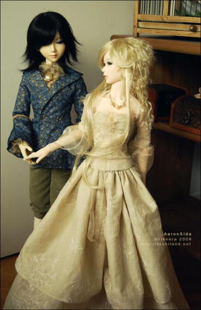 Аниме-куклы, куклы, пара,