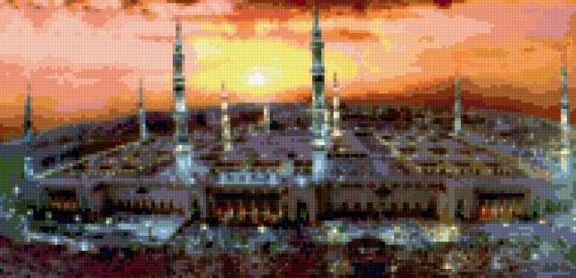 Мечеть в Мекке, предпросмотр