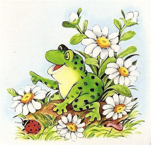 Лягушка квакушка, оригинал