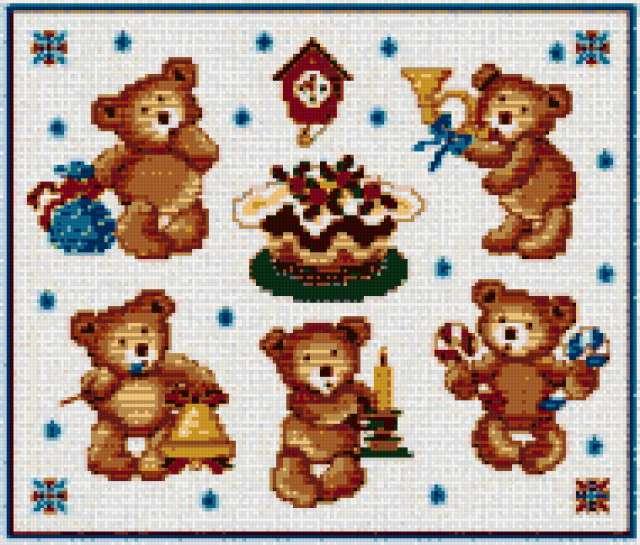 медведи, игрушки, детские