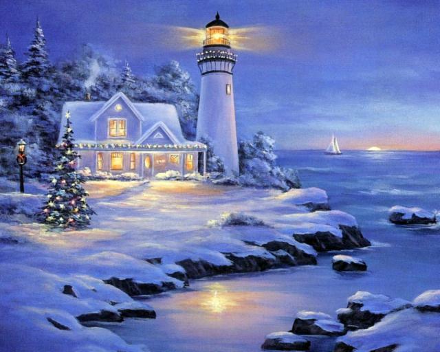 Зимний маяк, оригинал