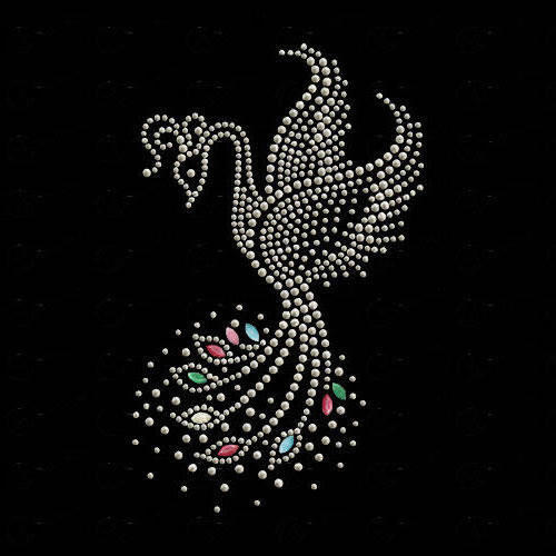 Жар-птица, орнамент, птица,