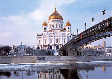 Храм Христа Спасителя, пейзаж,