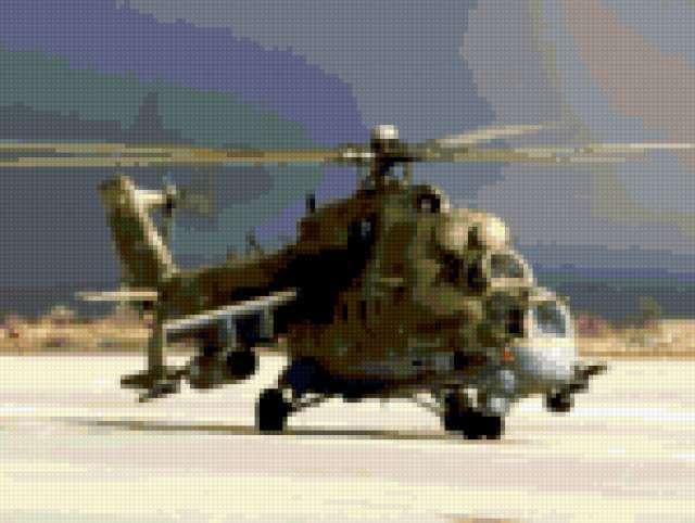 Вертолёт ми-24, предпросмотр
