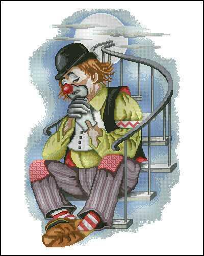 Грустный клоун, оригинал