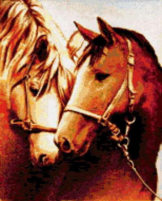 Лошади (пара), предпросмотр
