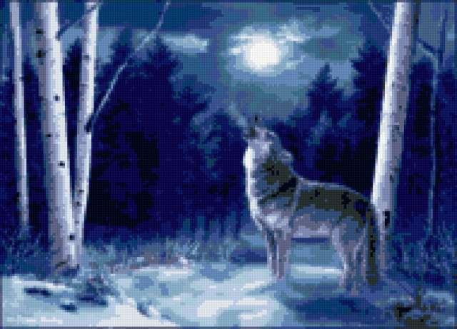 Лунный волк, предпросмотр