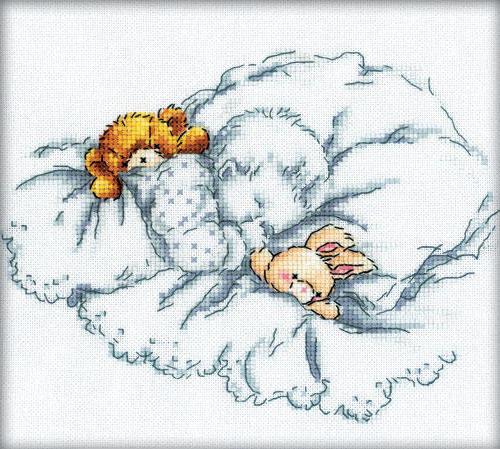Спящий малыш, оригинал