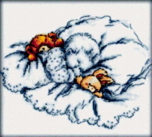 Спящий малыш, предпросмотр