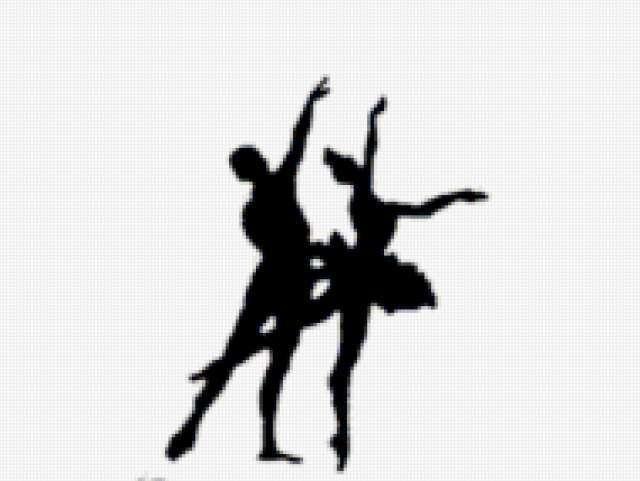 Балет, пара, танец, девушка
