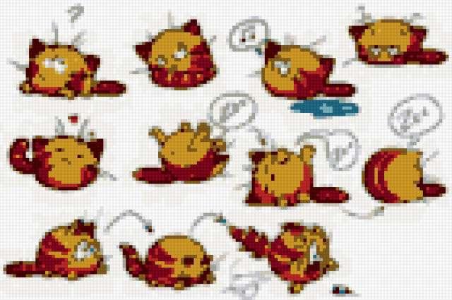 Рыжие коты комикс,