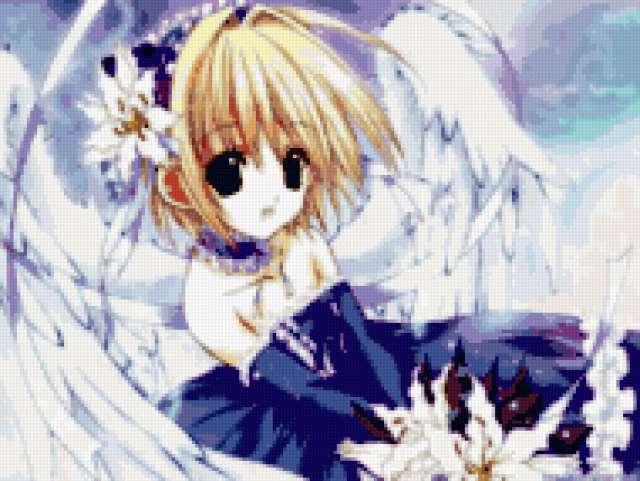 Ангел аниме, предпросмотр