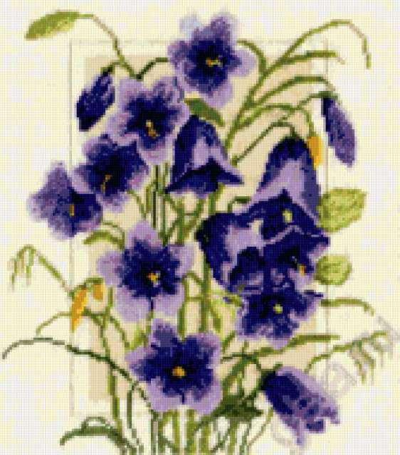 Вышивка крестиком мастер класс цветы