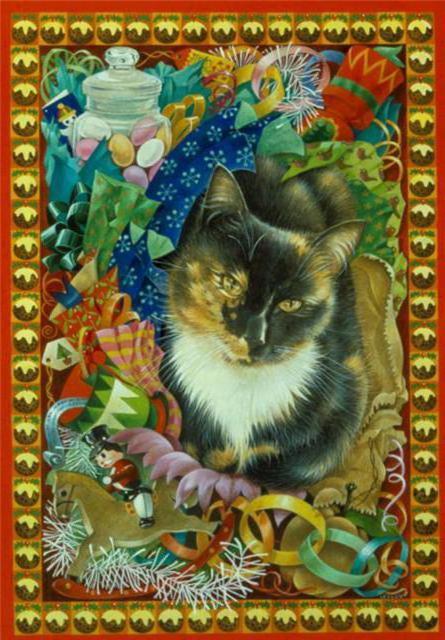 Трехцветная кошка, оригинал