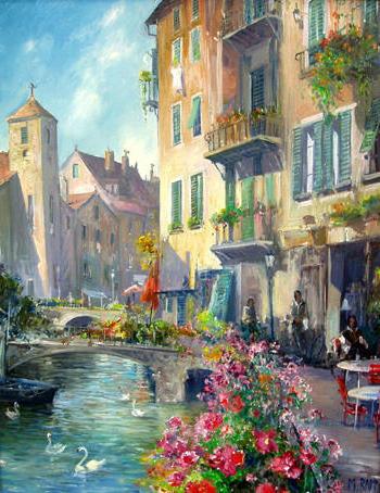 Улочки Венеции, оригинал