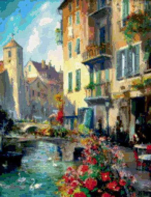 Улочки Венеции, предпросмотр