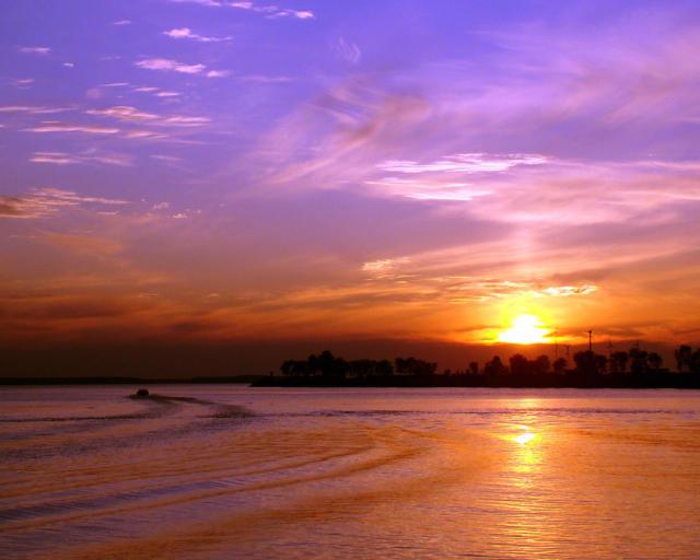 Восход солнца, природа, солнце