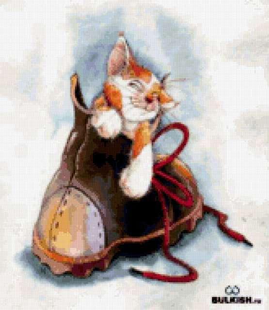 Кот в ботинке., предпросмотр