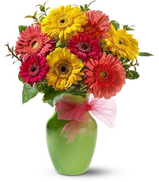 Букет герберов, цветы, букет,