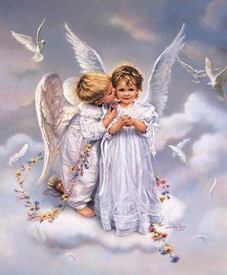 Ангелочки, ангелы, дети