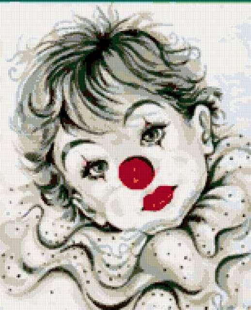 Грустный клоун, предпросмотр