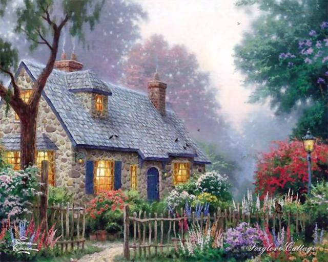 Старый домик, оригинал